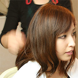 cantyヘアセット